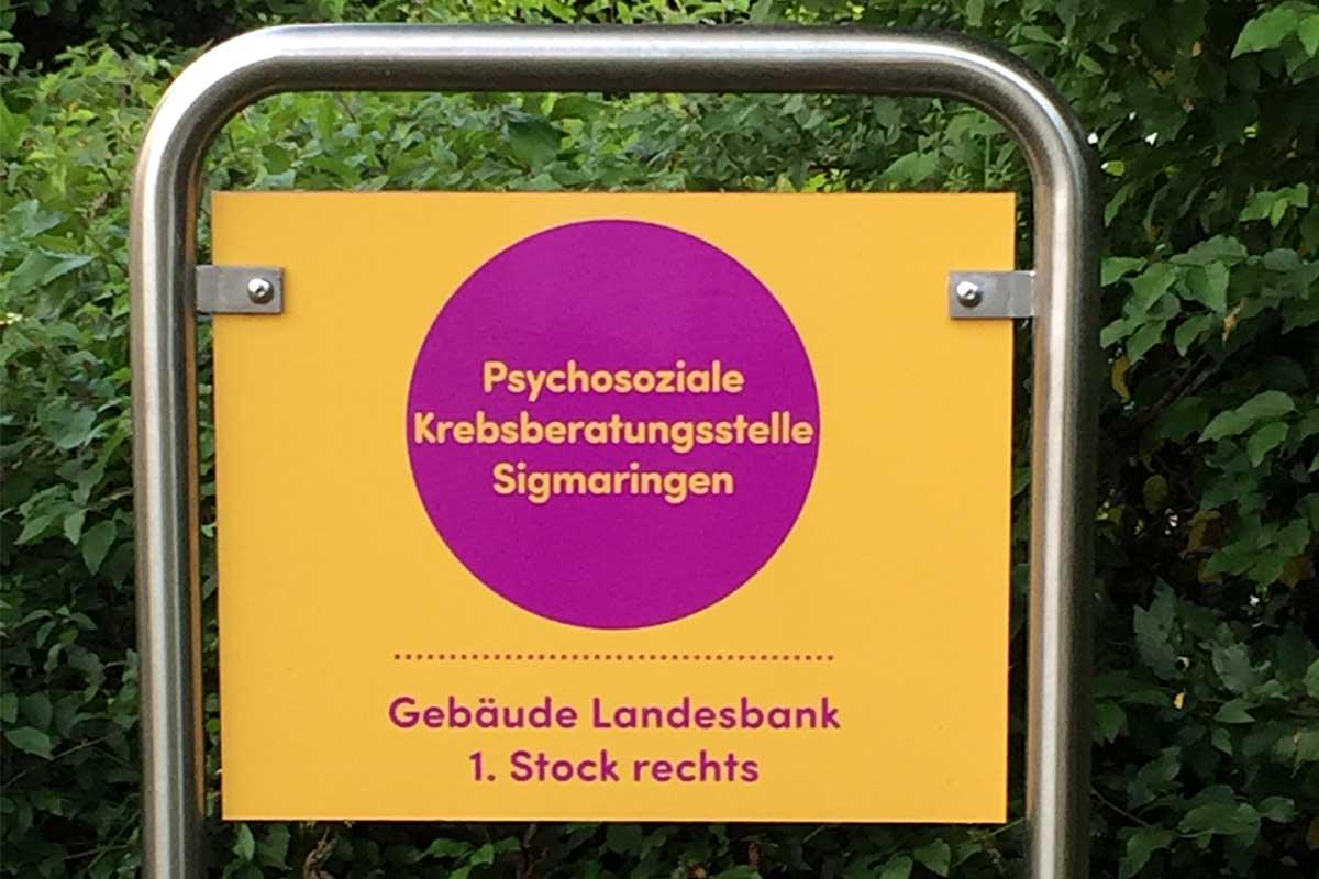 Referenz der Psychosozialen Krebsberatungsstelle Sigmaringen