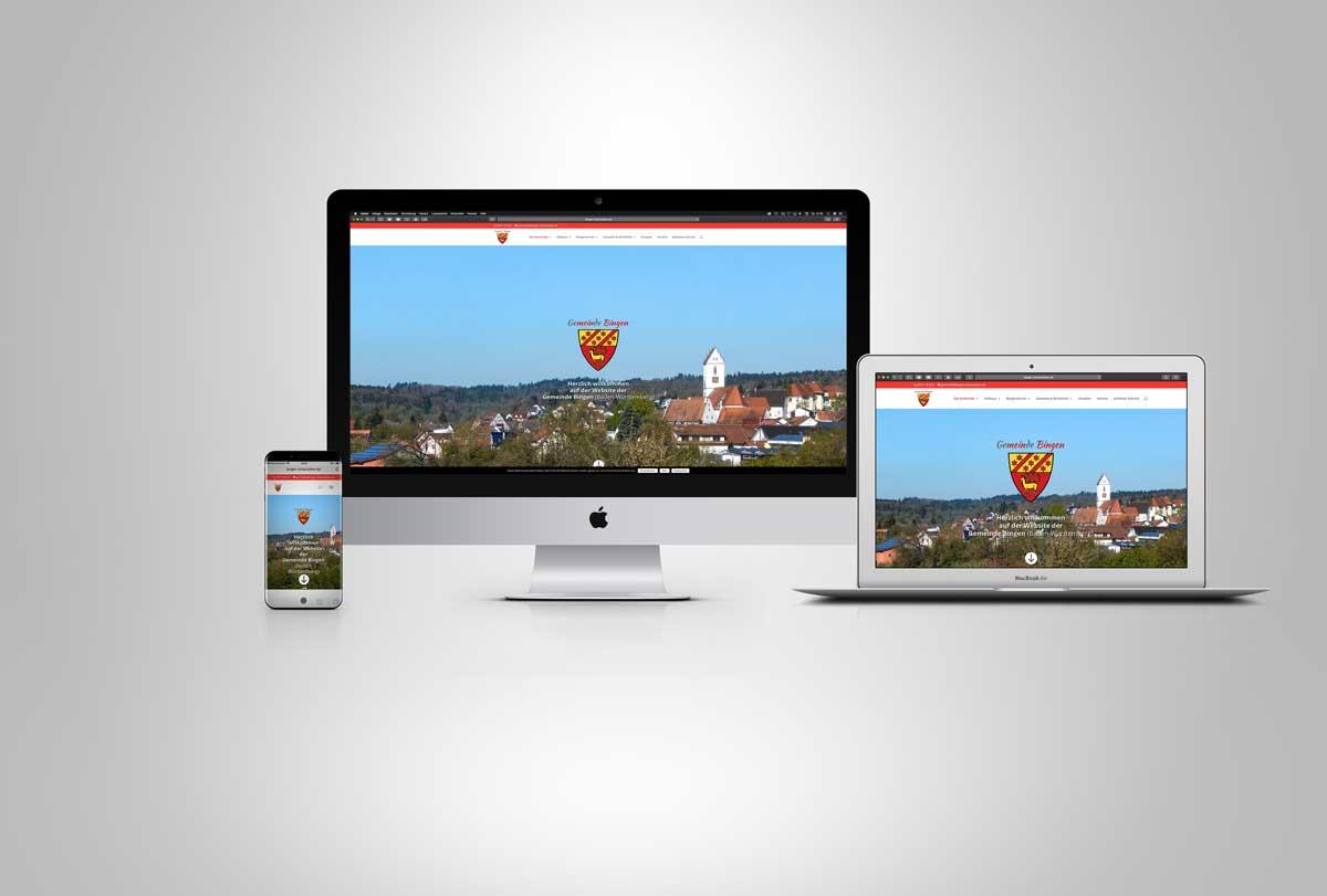 Foto: Website der Gemeinde Bingen Hohenzollern